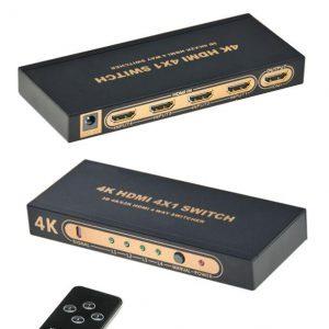 Selector o Switch 4X1 ultra HD 4k HDMI